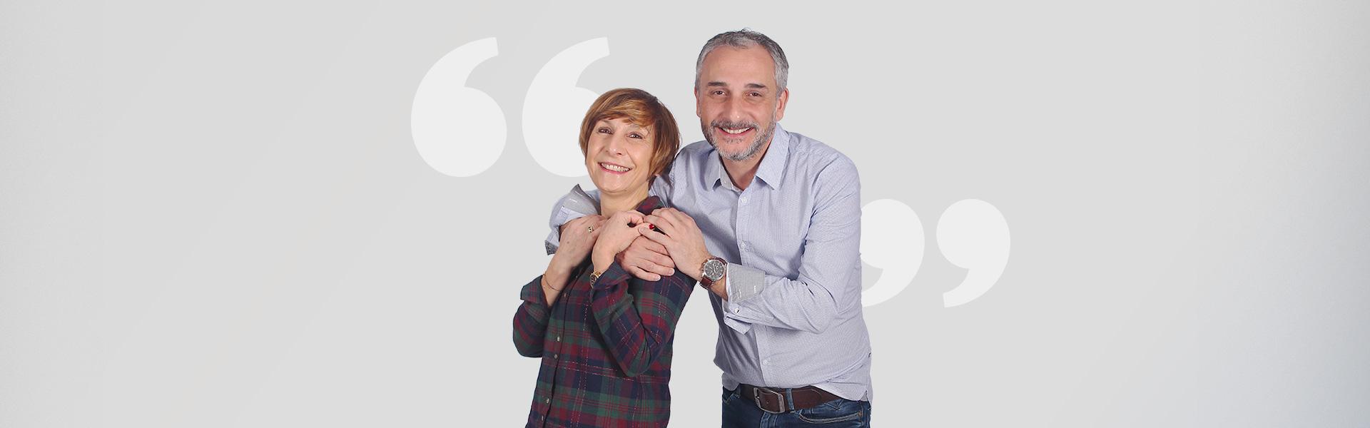 Eric et Patrica concessionnaire Aquilus piscines et spa