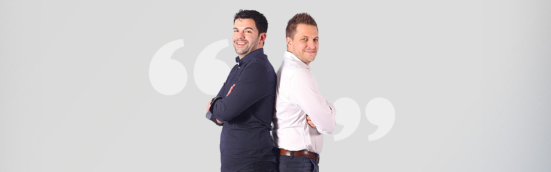 Guillaume et Ludovic concessionnaires Aquilus Piscines et Spas La Rochelle
