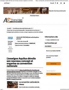 L'enseigne Aquilus dévoile son nouveau concept et organise sa convention nationale - _ACfranchise_Page_1