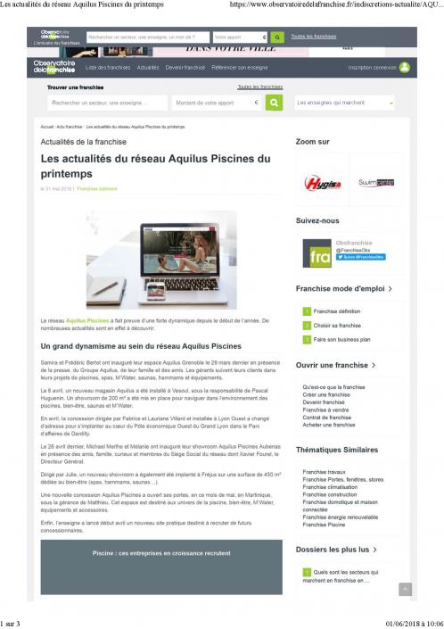 31052018_Les actualités du réseau Aquilus Piscines du printemps_observatoire_de_la_franchise