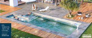 Désirade, concept de piscine Aquilus 2 en 1