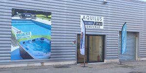 Aquilus Orange-Avignon - entrée magasin