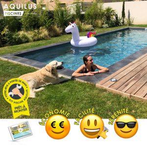 La piscine en kit Aquilus