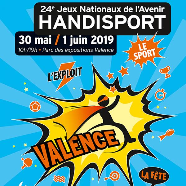Aquilus partenaire des Jeux nationau de l'avenir Handisport à Valence