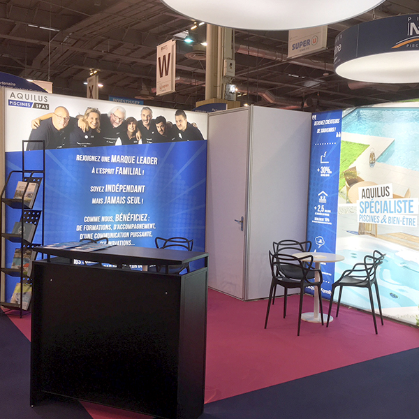 Aquilus present au salon Franchise Expo 2019