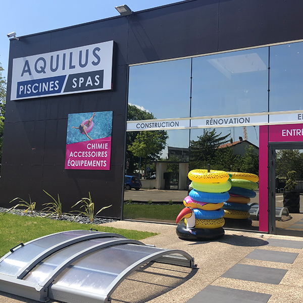 Nouveau magasin Aquilus Dardilly