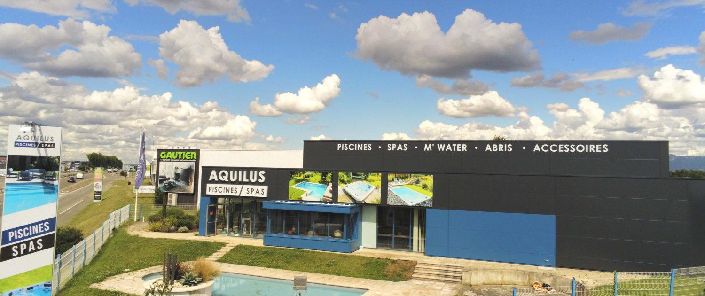 Rénovation de devanture magasin Aquilus Valence