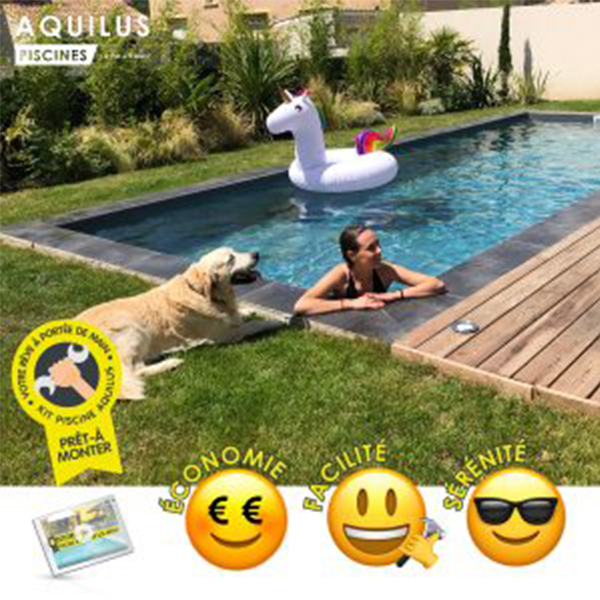 le kit piscine pret a monter aquilus