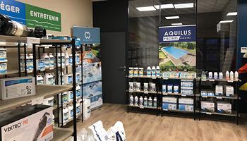 Interieur magasin Aquilus Beaune