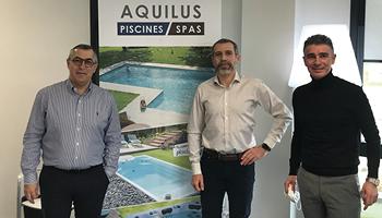 Nouveau concessionnaire Aquilus Piscines et Spas à Lyon Est