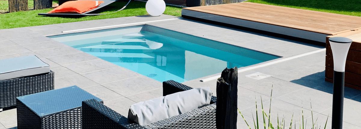 réalisation piscine de paysagiste Aquilus